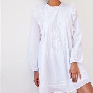 Aritzia Wilfred Elia Dress in White